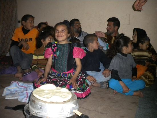 Niños palestinos en un campamento de refugiados de la franja de Gaza / Foto: M. Á. Medina