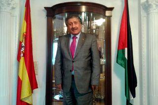 El embajador palestino en España, Musa Amer Odeh, este miércoles / FOTO: M. Á. M.