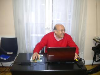 El profesor de árabe Abdelrahim El Shafi / M. Á. M.