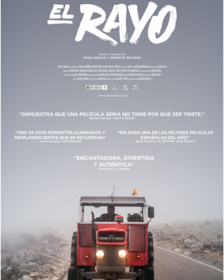 Cartel de la película 'El Rayo'