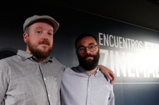 Fran Araújo (derecha) y Ernesto de Nova / Foto:Festival de San Sebastián(
