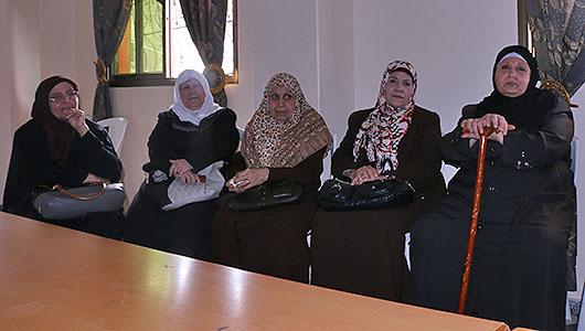 Mujeres palestinas que han pasado por cárceles de Israel / Foto: Delia Muñoz