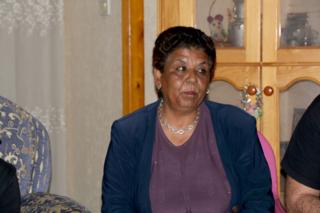 Mariam Abu Daqqa, en su casa de Gaza / Foto: Delia Muñoz