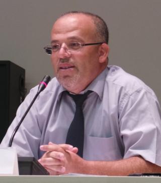 Samir Dilou, del partido tunecino Ennahda / Miguel Ángel Medina