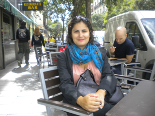 Lucía Ferreiro, autora de 'La convivencia entre españoles y marroquíes' / Foto: M.Á.M.