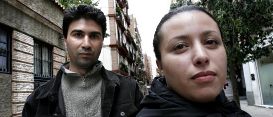 Marroquies residentes en Barcelona / Foto: Consuelo Bautista